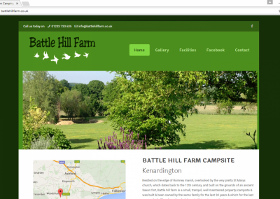 Battle Hill Farm Camping Site