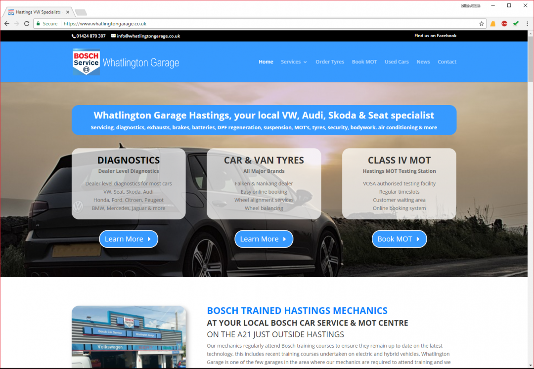 Whatlington Garage VW Specialist