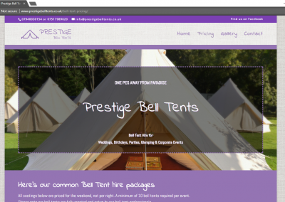 Prestige Bell Tents For Weddings