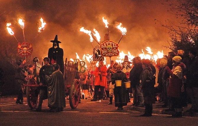 Battle Bonfire Night East Sussex