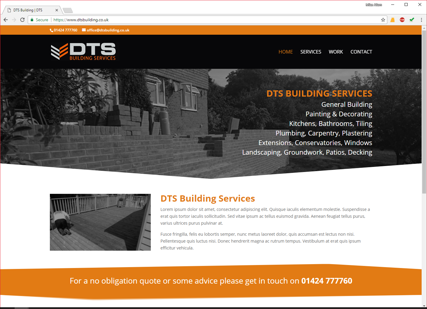 DTS Building Services Sussex