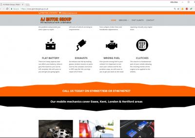 AJ Motor Group Mobile Mechanic